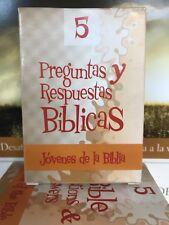 Bajaras Bíblicas Preguntas Y Repuestas Bíblicas bilingue Jóvenes De La Biblia #5