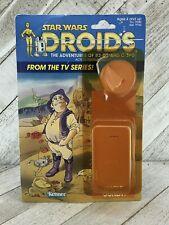 Vintage Star Wars Droids Uncle Gundy Cardback Kenner 1985