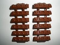 ////   LEGO  2  braune  LEITERN / TREPPEN   Neuware   ////