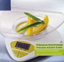 Präzisions Küchenwaage Digitale Waage in Gelb mit Zuwiegefunktion NEU / OVP