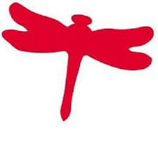 Tanning Bed Body  Stickers  Red Dragon Fly   Quantity 1000