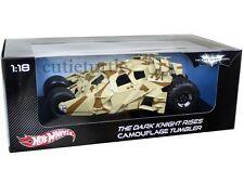 Hot Wheels The Dark Knight Rises Batmobile Tumbler Batman 1:18 Camouflage BCJ76