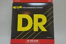 DR BASS Saiten MR-45 Komplettsatz 4saitig HI-BEAM Stainlees Steel, Round Core