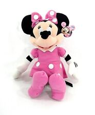 "Disney Pink Minnie Plush Doll 16"" inches - BRAND NEW Licensed"