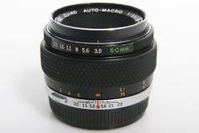 Olympus Zuiko Auto Macro 50mm f3.5 Lens