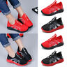 Kids Girls Boys Mesh Breathable Sports Running Sneakers Trainers Casual Shoes SP