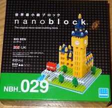 Nanoblock Big Ben Micro building block construction Kit mini block New NBH029