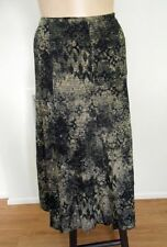Mid-Calf Rayon A-Line Machine Washable Skirts for Women
