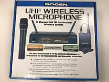 Bogen UDMS16BP 16 Channel Wireless Body Pack Transmitter w/Lapel Microphone