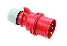 CEE Drehstromstecker Stecker Shark 400V 32A IP44 PCE 025-6 025-6
