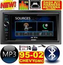 95-02 GM TRUCK/SUV ALTIMA BLUETOOTH TOUCHSCREEN USB SD AUX CAR RADIO STEREO PKG.