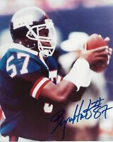 Byron Hunt Signed 8x10 Photo New York Giants COA - Autographed
