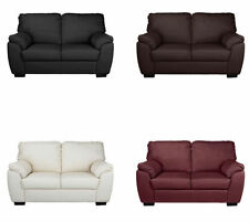 Leather Living Room Up to 2 Seats Contemporary Sofas
