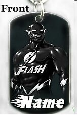 FLASH - Dog tag Necklace or Key chain + FREE PERSONALIZATION