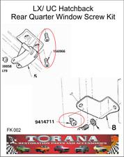 Torana LX/ UC Hatchback Rear Quarter Window Screw Kit