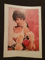 Gina Lollabrigida OR Rock Hudson - 1962 Book Print