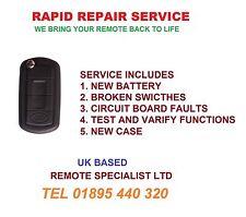 Land Rover Discovery 3 remote flip key fob Repair refurbishment service Fix