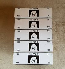 """Radiant Heating RB-5 FLUSH MOUNT 500 Clips Fasteners 3/4"""" Pipes Wire Bundles - 5"""