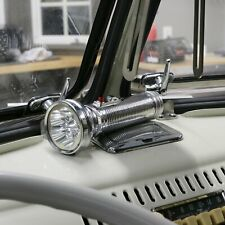 VTG STYLE FLASHLIGHT W COLUMN MOUNTING BRACKET RAT HOT ROD CUSTOM PICKUP TRUCK