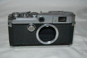 Canon-L3 Vintage 1965 Japanese Rangefinder Camera. Serviced. No.536273. UK Sale