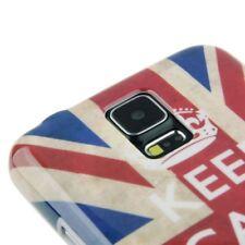 HardCase für Samsung i9600 Galaxy S5 Keep calm and carry on Schutzcase Hülle