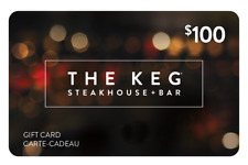 The Keg Steakhouse & Bar Gift Card - $100 Mail Delivery