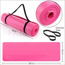 Large Thick Foam Floor Excercise Yoga Mat NBR Pilates Home Gym Physio Fitness