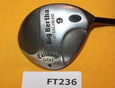 Callaway Big Bertha Steelhead 9 Fairway Wood Ladies Graphite Club FT236