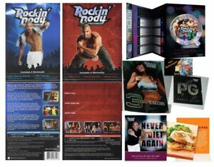 SEALED Beachbody Shaun T's ROCKIN' BODY DVD SET~7 Workouts/2 DVDs +Eating Guides