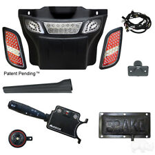 Golf Cart LED Deluxe Light Bar Bumper Kit EZGO RXV 08-15 Lights Turn Signal