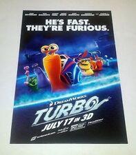 TURB0 - Movie Poster - Flyer - 13 X 19 - RYAN REYNOLDS