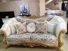 Divano tre posti classico stile Barocco modello Silvia design elegante