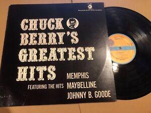 CHUCK BERRY - GREATEST HITS  LP  CHESS LP 1485   U.S.  STEREO REISSUE NEAR MINT