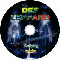 DEF LEPPARD GUITAR BACKING TRACKS CD BEST GREATEST HITS ROCK MUSIC PLAY ALONG