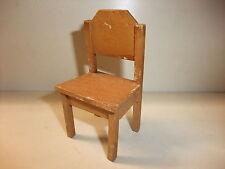 b Puppenstube Kaufmannsladen Möbel Bauernküche Stuhl Küchenstuhl Bauernstuhl alt