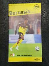 Off. Programm Stadionheft BVB Borussia Dortmund v Slavia Praha Prag UEFA CL 2019