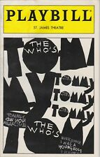 THE WHO'S TOMMY Playbill PETE TOWNSHEND / MICHAEL CERVERIS September 1994 NYC