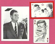 John F Kennedy JFK President USA Fab Card Collection Z