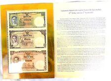 1, 5, 10 Baht König Bhumibol Adulyadej von Thailand RAMA IX zum 80. Geburtstag