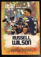 2012 Russell Wilson Gold Rookie Gems Rookie Card Seattle Seahawks Mint