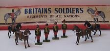Britains Soldiers Regiments Nations 11th Hussar's Dismounted Set 182 Box 8-Piece