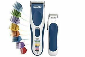 Wahl Colour Pro Cordless Hair Clippers & Bonus Trimmer Kit!!