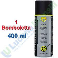 Silicone Spray ECO SERVICE 1 Bomboletta 400ml Protettivo Lucidante Lubrificante