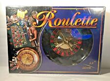 "Roulette Gaming Set Cathay Design 12"" wheel NEW"