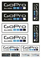 GoPro Laminated Stickers Decals Car Bike Surf Go Pro Action Camera Graphics /23