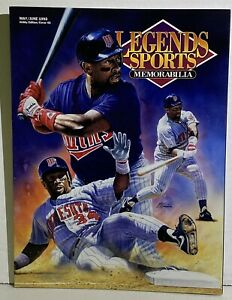 KIRBY PUCKETT LEGENDS Sports Memorabilia Magazine May/June 1993 Hobby #45