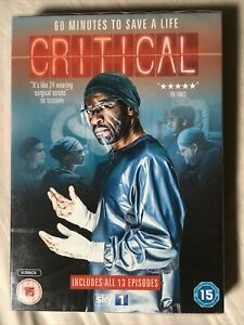 Critical DVD 2015 Catherine Walker Claire Skinner Lennie James New & Sealed Sky1