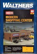 Walthers Cornerstone 933-4115 HO Modern Shopping Center Kit