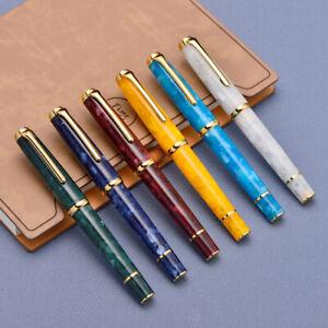 Hongdian 960 (N1) Retro Acrylic Resin Fountain Pen Nebula Series EF 0.4mm Pen