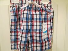 NWt Jumping Beans 24 Mos multicolor plaid boys shorts